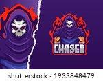 chaser e sport game logo... | Shutterstock .eps vector #1933848479
