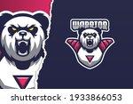 wild panda e sport game logo... | Shutterstock .eps vector #1933866053