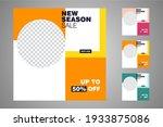 new set of editable minimal...   Shutterstock .eps vector #1933875086