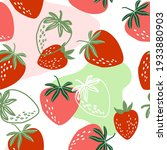 seamless pattern with bright... | Shutterstock .eps vector #1933880903