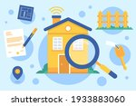 real estate searching. search...   Shutterstock .eps vector #1933883060