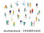 different isometric cartoon...   Shutterstock .eps vector #1933891433