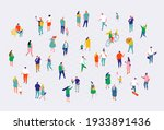 different isometric cartoon... | Shutterstock .eps vector #1933891436
