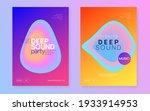 music fest set. fluid...   Shutterstock .eps vector #1933914953