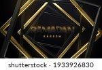 ramadan kareem. black paper...   Shutterstock .eps vector #1933926830