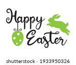 easter banner template with... | Shutterstock .eps vector #1933950326