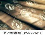 abstract virtual social network ...