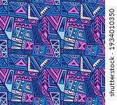 boho texture. boho style...   Shutterstock .eps vector #1934010350