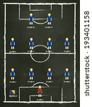 algeria football club formation ... | Shutterstock .eps vector #193401158