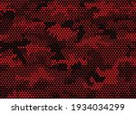 camouflage seamless pattern.... | Shutterstock .eps vector #1934034299