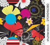 seamless abstract vector... | Shutterstock .eps vector #1934046380