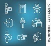 job loss  downsizing  getting...   Shutterstock .eps vector #1934132840
