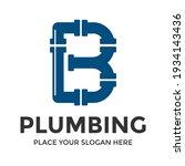 b letter vector logo template.... | Shutterstock .eps vector #1934143436