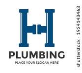 h letter vector logo template.... | Shutterstock .eps vector #1934143463