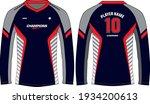 long sleeve racing t shirt ... | Shutterstock .eps vector #1934200613