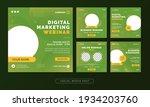 digital marketing webinar...   Shutterstock .eps vector #1934203760