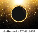 retro light banner. vector... | Shutterstock .eps vector #1934219480