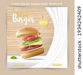 editable minimal square banner... | Shutterstock .eps vector #1934242409
