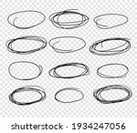 hand drawn set of objects for...   Shutterstock .eps vector #1934247056