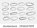 hand drawn set of objects for... | Shutterstock .eps vector #1934247059
