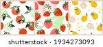 set artistic seamless patterns... | Shutterstock .eps vector #1934273093