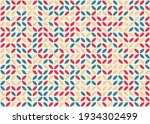abstract geometric pattern... | Shutterstock .eps vector #1934302499