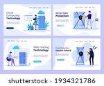 cloud computing  web hosting ...   Shutterstock .eps vector #1934321786