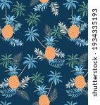 a perfect summer tropical... | Shutterstock .eps vector #1934335193