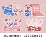 valentine illustration vector... | Shutterstock .eps vector #1934336633
