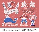 valentine illustration vector... | Shutterstock .eps vector #1934336639