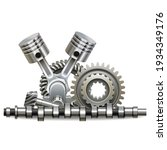 vector motor parts concept...   Shutterstock .eps vector #1934349176