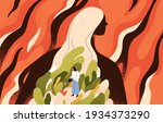 concept of mental health ... | Shutterstock .eps vector #1934373290