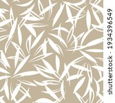 brown taupe floral botanical... | Shutterstock .eps vector #1934396549