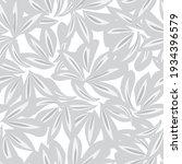 white floral botanical seamless ...   Shutterstock .eps vector #1934396579