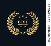 best seller badge logo design....   Shutterstock .eps vector #1934398283