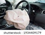 Interior Of A Automobile Or Car ...