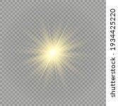 special design of sunlight or...   Shutterstock .eps vector #1934425220