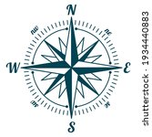 wind rose. marine compass....   Shutterstock .eps vector #1934440883