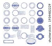 blank templates of shabby... | Shutterstock .eps vector #1934482229