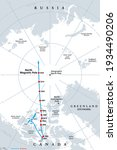 polar drift  movement of the...   Shutterstock .eps vector #1934490206