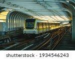 Train On The Railway Of...