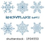 some designs of winter... | Shutterstock .eps vector #1934553