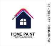 home painting vector logo... | Shutterstock .eps vector #1934557439