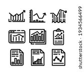 graph icon or logo isolated...   Shutterstock .eps vector #1934566499