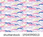 seamless pattern design with... | Shutterstock .eps vector #1934590013