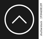 arrow  round  up icon vector...   Shutterstock .eps vector #1934608139