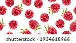raspberry vector seamless... | Shutterstock .eps vector #1934618966