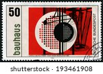 germany   circa 1983  a stamp...   Shutterstock . vector #193461908
