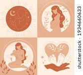 motherhood  maternity ... | Shutterstock .eps vector #1934660633
