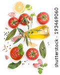 tomato  sauce and the... | Shutterstock . vector #193469060
